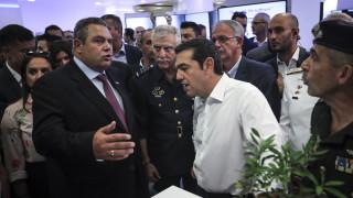 ΔΕΘ 2018 - Καμμένος: Η Έκθεση είναι αφιερωμένη στην ελληνοαμερικανική φιλία