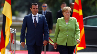 Μήνυμα Μέρκελ στην πΓΔΜ: Η έγκριση της Συμφωνίας των Πρεσπών, προϋπόθεση για ένταξη σε ΝΑΤΟ και ΕΕ