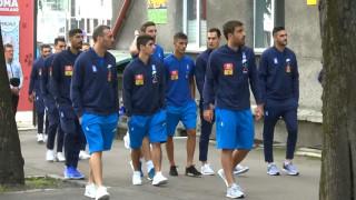 Βόλτα των παικτών της Εθνικής στο Ταλίν