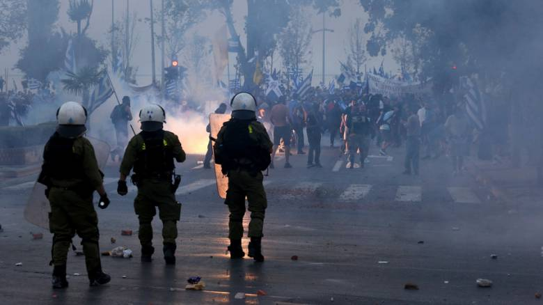 ΔΕΘ 2018: Επεισόδια στα συλλαλητήρια της Θεσσαλονίκης