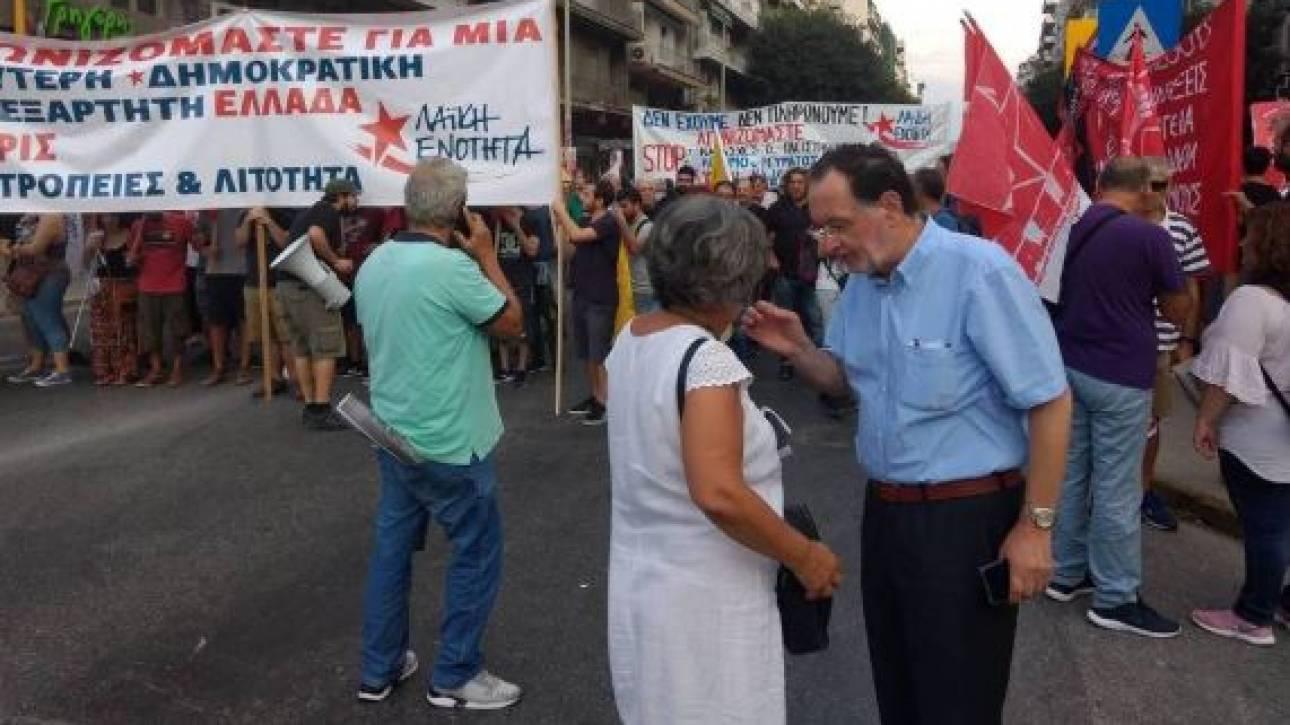 ΔΕΘ 2018: Η Θεσσαλονίκη ζει μια τραγωδία, λέει ο Λαφαζάνης