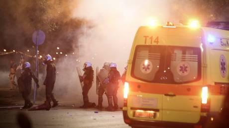 ΔΕΘ 2018: Νύχτα επεισοδίων στο κέντρο της Θεσσαλονίκης