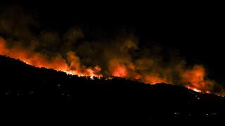 Μεγάλη φωτιά στη Σάμο