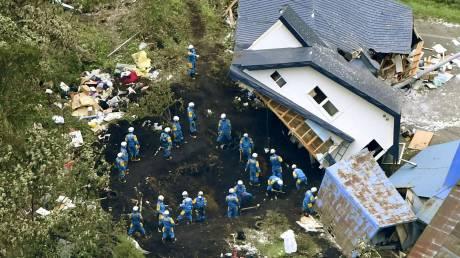 Ιαπωνία: Στους 42 οι νεκροί από το σεισμό - Στη νήσο Χοκάιντο ο Άμπε