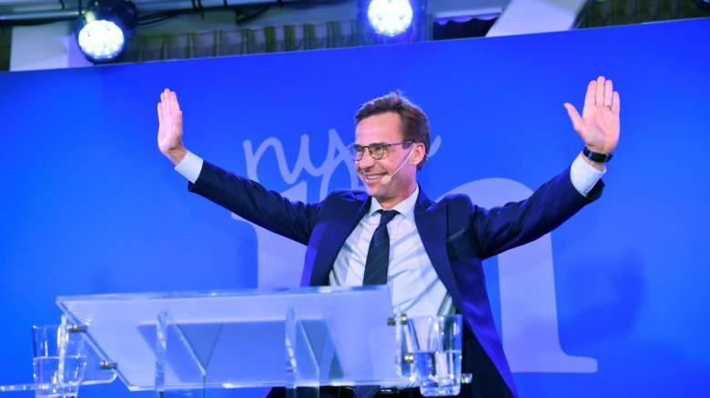 Εκλογές Σουηδία: Ο ηγέτης της κεντροδεξιάς καλεί τον σοσιαλδημοκράτη πρωθυπουργό να παραιτηθεί