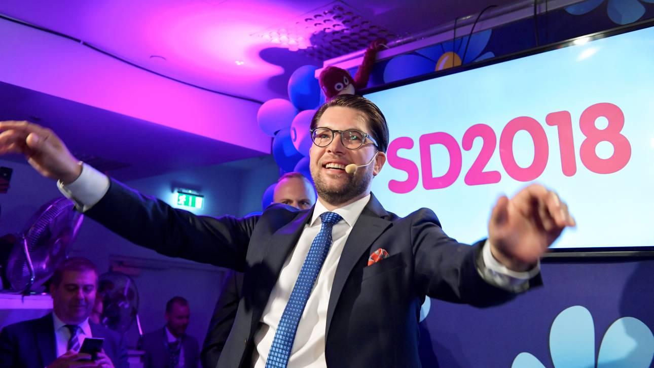 Περίοδος αβεβαιότητας για τη Σουηδία μετά την άνοδο της ακροδεξιάς στις εκλογές