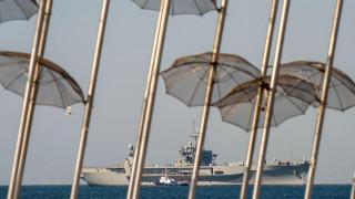 Στο λιμάνι της Θεσσαλονίκης η ναυαρχίδα του 6ου αμερικανικού στόλου