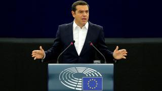 Τσίπρας στο Ευρωκοινοβούλιο: Γίναμε από μέρος του προβλήματος, μέρος της λύσης
