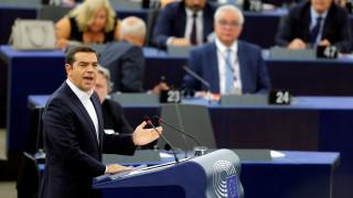 Τσίπρας στο Ευρωκοινοβούλιο: Η κυβέρνησή μου πέτυχε εκεί που απέτυχαν τρεις κυβερνήσεις