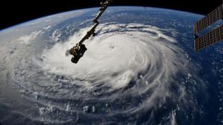 Ο τυφώνας Florence από το διάστημα