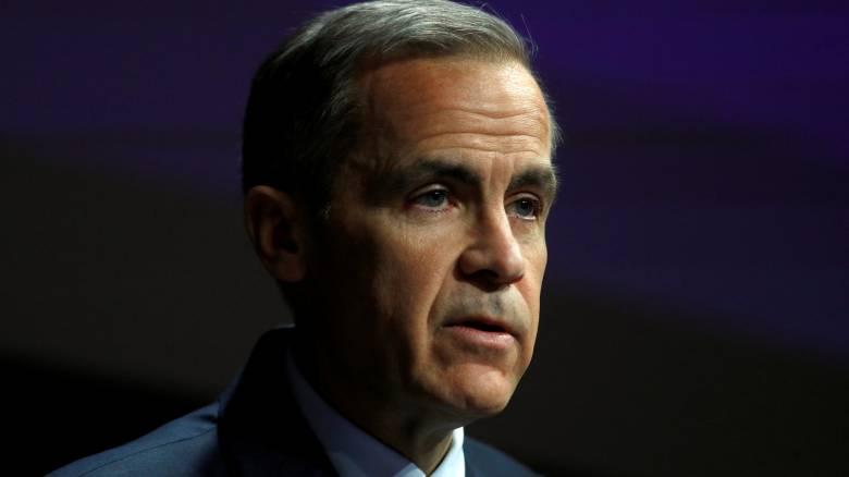 Κάρνεϊ: Παραμένει στο τιμόνι της Τράπεζας της Αγγλίας για ένα ομαλό Brexit