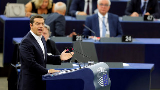 «Kύμα» πολιτικών αντιδράσεων μετά την ομιλία Τσίπρα στο Ευρωκοινοβούλιο