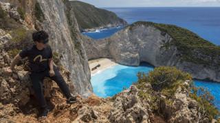Ζάκυνθος: Κατολίσθηση στο «Ναυάγιο», τραυματίστηκε τουρίστρια