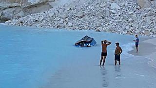 Ζάκυνθος: Κατολίσθηση στο «Ναυάγιο», έρευνες για τυχόν αγνοούμενους
