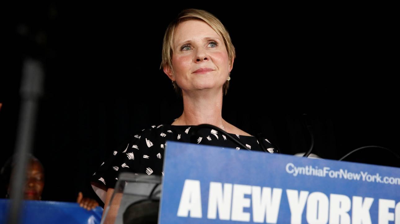 Η Σίνθια Νίξον αποχαιρετά τη θέση του κυβερνήτη της Νέας Υόρκης: Ηττήθηκε από τον Άντριου Κουόμο