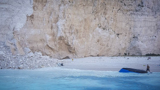 Κατολίσθηση - Ζάκυνθος: «Κλειστό» το Ναυάγιο για τους τουρίστες μέχρι νεωτέρας