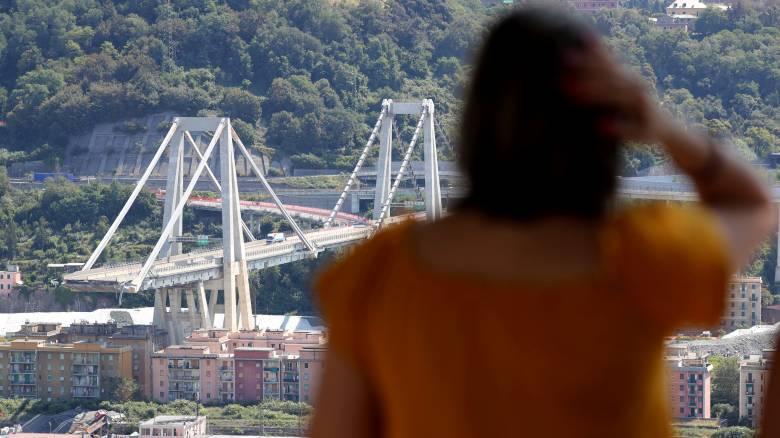 Ενός λεπτού σιγή στη Γένοβα έναν μήνα μετά την κατάρρευση της γέφυρας Μοράντι
