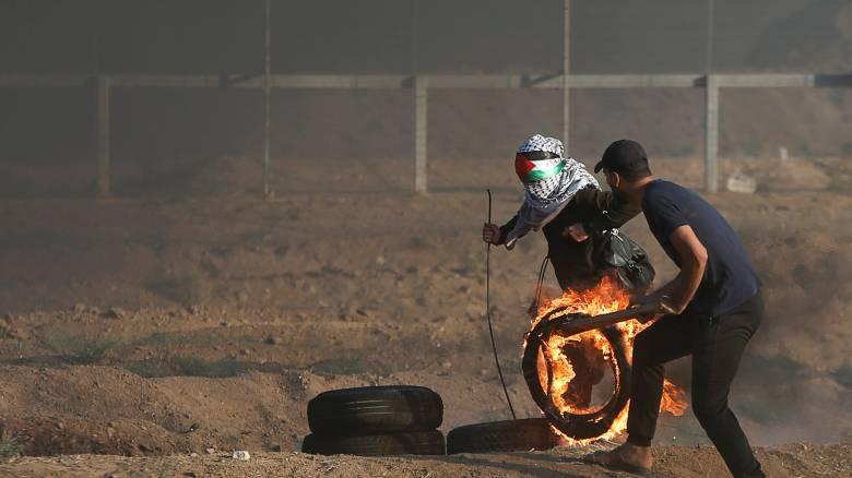 Τρεις Παλαιστίνιοι νεκροί από πυρά Ισραηλινών στη Λωρίδα της Γάζας