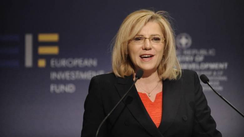 Κρέτσου: Η Ελλάδα από τις χώρες με τα υψηλότερα ποσοστά απορροφητικότητας ευρωπαϊκών κονδυλίων