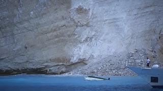 Κατολίσθηση στο «Ναυάγιο»: Χειρουργήθηκε η τουρίστρια που τραυματίστηκε