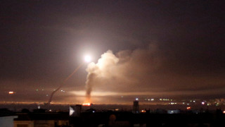 Ισραηλινή πυραυλική επίθεση κατά του διεθνούς αεροδρομίου της Δαμασκού