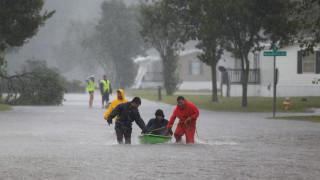 Κυκλώνας Φλόρενς: «Μνημειώδεις» ποσότητες βροχής – Επτά οι νεκροί