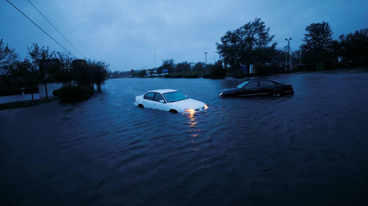ΗΠΑ: Στους 13 οι νεκροί από τον φονικό τυφώνα Φλόρενς
