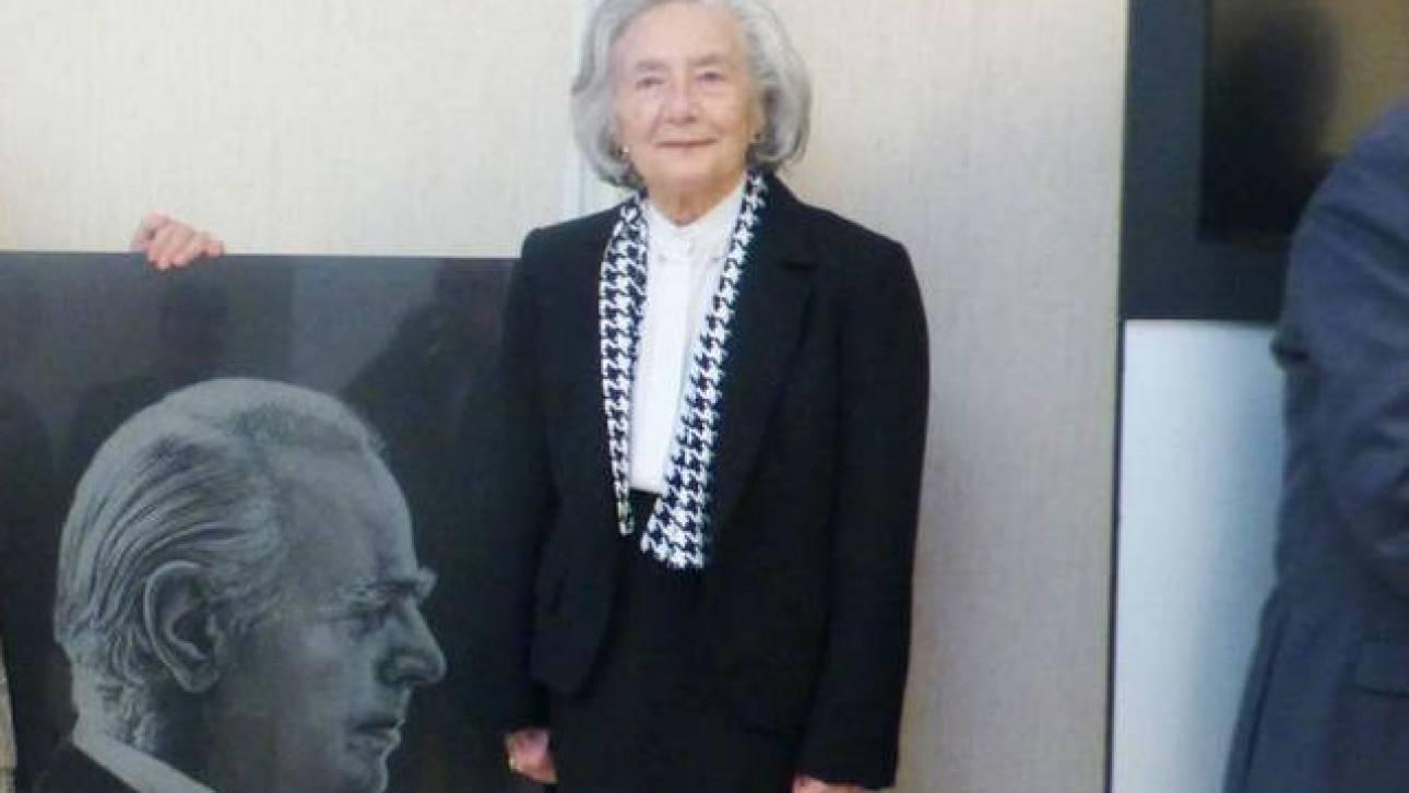 Πέθανε η ιδιαιτέρα του Κωνσταντίνου Καραμανλή, Λένα Τριανταφύλλη