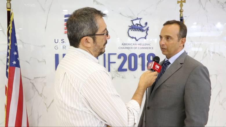 Κωστόπουλος:Στόχος τώρα να κεφαλαιοποιήσουμε την επιτυχία της αμερικανικής παρουσίας στην 83η ΔΕΘ