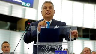 «Μήνυμα» Όρμπαν σε ΕΕ: Απαράδεκτο να μας αφαιρούν το δικαίωμα της προστασίας των συνόρων