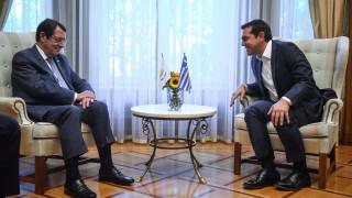 Συνάντηση Τσίπρα-Αναστασιάδη: Στο επίκεντρο η επανεκκίνηση των συνομιλιών για το Κυπριακό