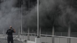 Μπρούκλιν: Μεγάλη φωτιά σε πάρκινγκ εμπορικού κέντρου