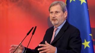 Γιοχάνες Χαν: Χαιρετίζω τη Συμφωνία των Πρεσπών