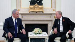 Νετανιάχου σε Πούτιν: Η Συρία έριξε το ρωσικό κατασκοπευτικό