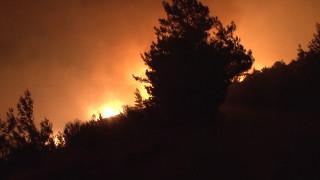 Μαίνεται η πυρκαγιά στη Ζάκυνθο