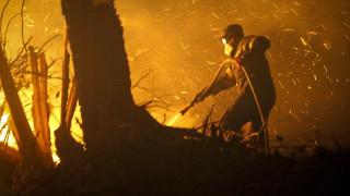 Ζάκυνθος: Ολονύχτια μάχη με τις φλόγες