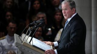 Μπους σε πΓΔΜ: Περήφανος που οι ΗΠΑ αναγνώρισαν το συνταγματικό σας όνομα επί των ημερών μου