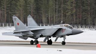 Μαχητικό αεροσκάφος Mig-31 συνετρίβη στη Ρωσία