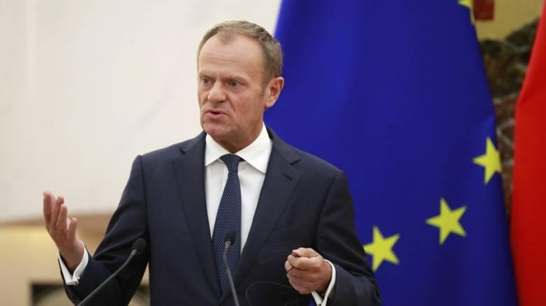 Έκτακτη σύνοδο κορυφής για το Brexit εντός Νοεμβρίου ανακοίνωσε ο Τουσκ