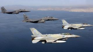 Εικονική αερομαχία μεταξύ ελληνικών και τουρκικών μαχητικών στο Αιγαίο