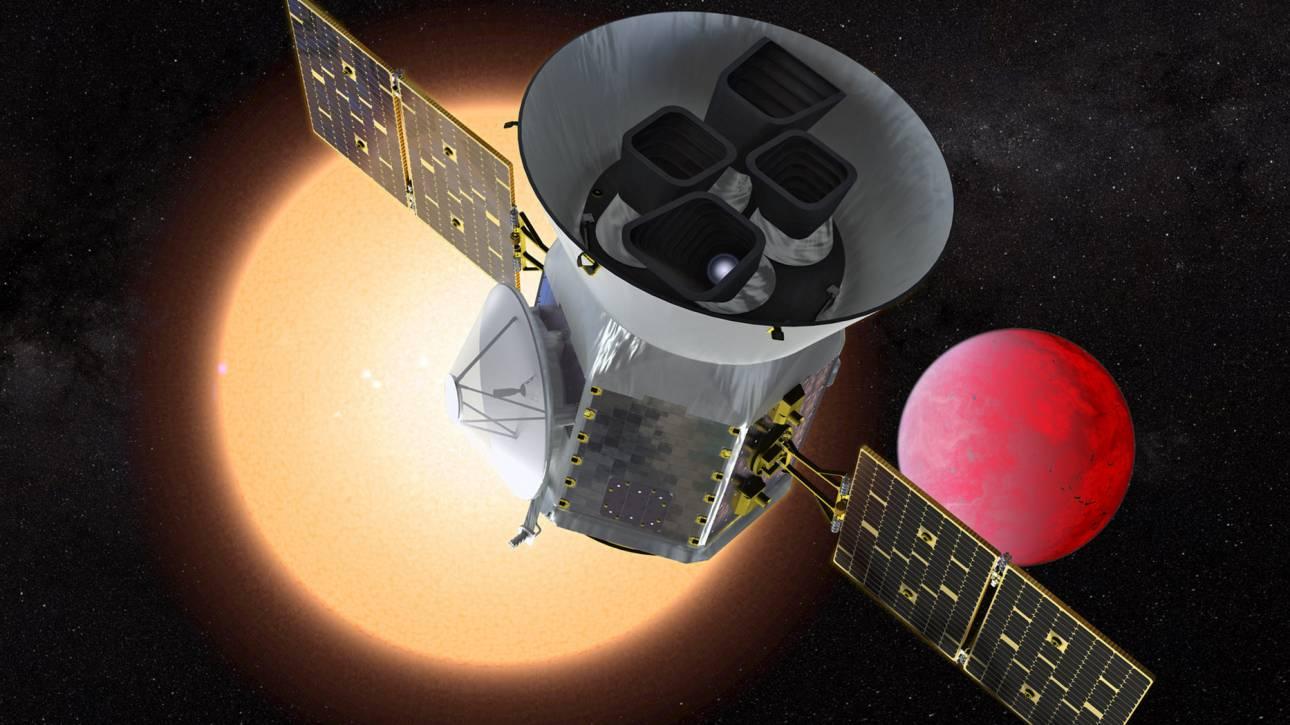 Μια «καυτή» υπερ-Γη ανακάλυψε το διαστημικό τηλεσκόπιο TESS