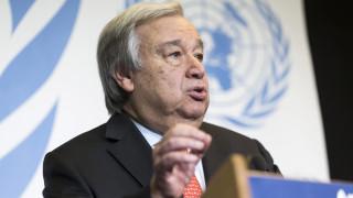 Γκουτέρες για Συμφωνία των Πρεσπών: Ελπίζουμε ότι θα κυρωθεί και στις δύο χώρες