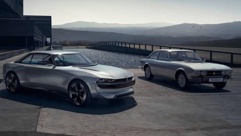 To ηλεκτρικό, αυτόνομο και πολύ όμορφο e-Legend έχει το DNA του θρυλικού Peugeot 504 Coupe