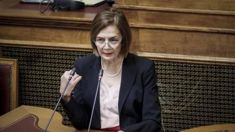 Μυρσίνη Ζορμπά: Κακώς δεν υπήρξε πρόβλεψη να εξαιρεθούν μνημεία από την ένταξη στο Υπερταμείο