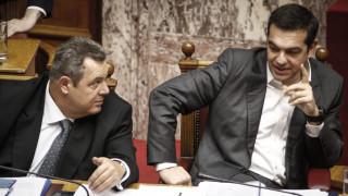 Τσίπρας-Καμμένος: Τώρα ενότητα, τον Μάρτιο ξανασυζητάμε
