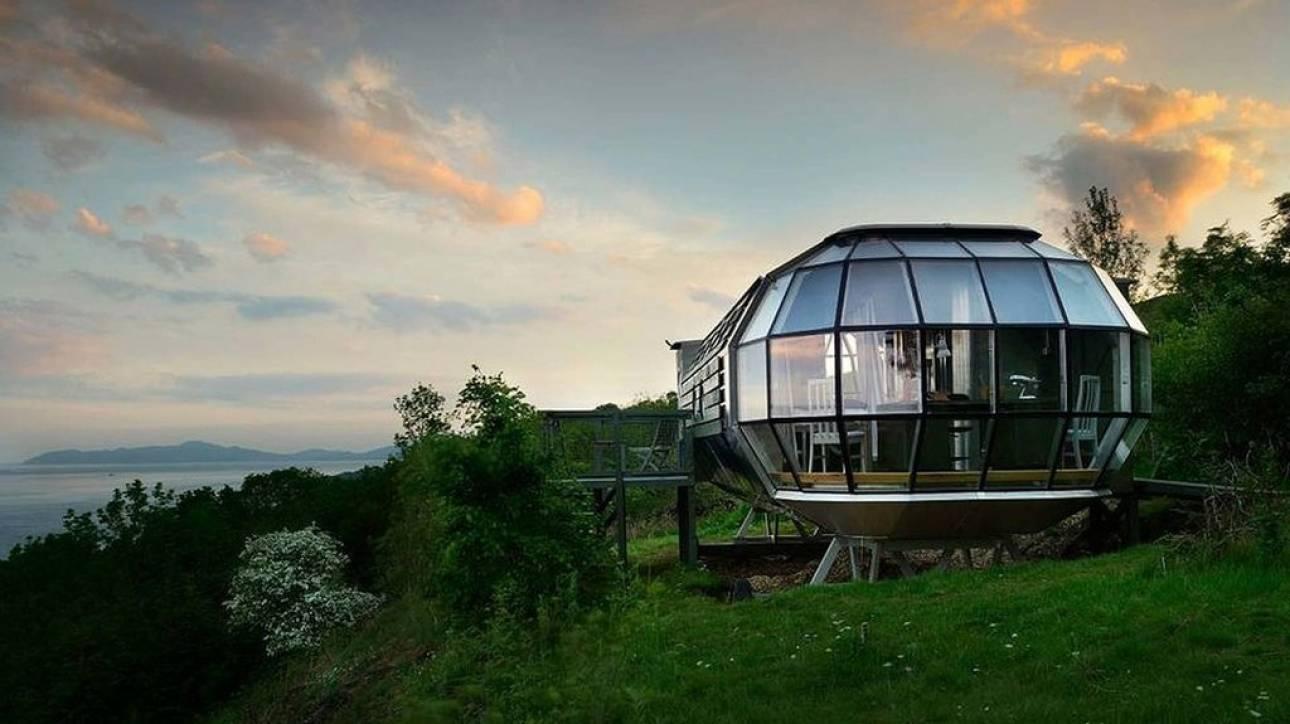 Αυτό το σπίτι στη Σκωτία μοιάζει με… διαστημόπλοιο!
