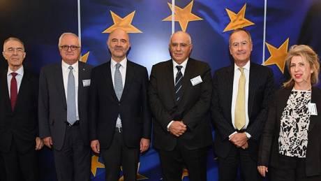 Συναντήσεις Ελλήνων τραπεζιτών με Μοσκοβισί και Σχοινά
