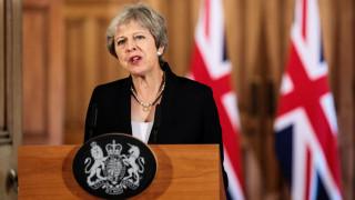 Πρόωρες εκλογές ενδέχεται να κηρύξει η Μέι προκειμένου να προχωρήσει το Brexit