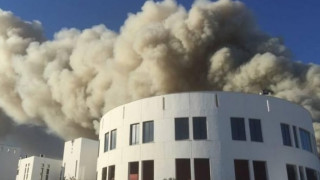 Φωτιά στο Πανεπιστήμιο Κρήτης στο Ηράκλειο