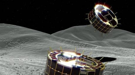 Τα Hayabusa 2 έγραψαν ιστορία: Προσεδαφίστηκαν στον αστεροειδή Ριούγκου